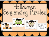 Number Sequencing - Halloween Puzzles