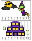 Number Sequencing - Halloween Puzzles - Casse tête numérique 1 à 10