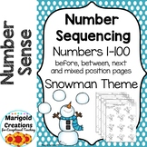 Number Sequencing Numbers 1-100