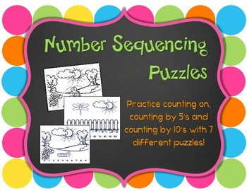 Number Sequencing Puzzles