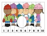 Number Sequencing - Winter Puzzles