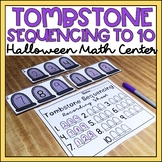 Number Sequencing to 10 Halloween Math Center Kindergarten