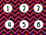 Number Set 1-30 - Nautical Theme