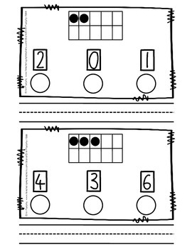 Number Set Dot & Write Booklets for #0-20