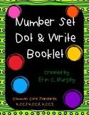 Number Set Dot & Write Booklets for #0-20