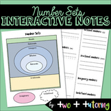 Number Sets (includes the Real Number System) Interactive
