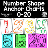 Number Shape Anchor Charts 0-20