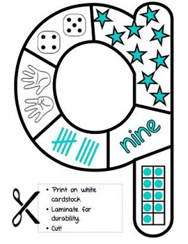 Number Shape Puzzles (w/ BONUS Number Posters)!