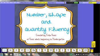 Number, Shape and Quantity Fluency