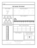 Number Sheets 1-10
