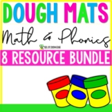 Playdough Mats Alphabet Numbers Shapes | - The Bundle