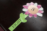 Number Sight Words and Matching Number Flower Cards(1-12)