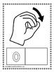 Number Sign Language Coloring Sheets (NO PREP)