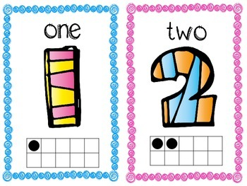 Number Signs 1-20