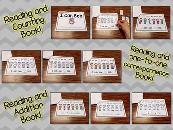 Number Six Interactive Mini Readers- FREEBIE!!