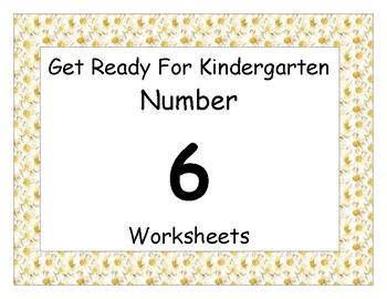 Number Six Worksheet Pack