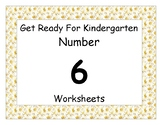 Number Six Worksheet Pack