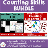 Number Skills Pack: Counting BUNDLE
