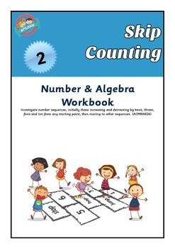 Number: Skip Counting Maths Workbook