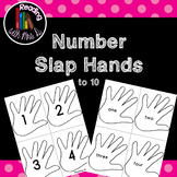 Number Slap Hands to 10 FREEBIE