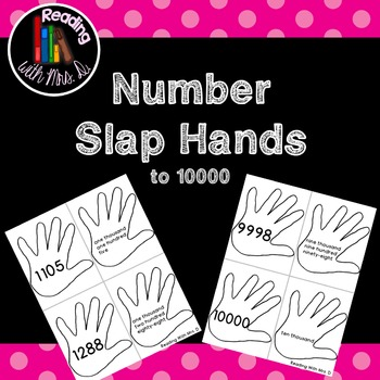 Number Slap Hands to 10000