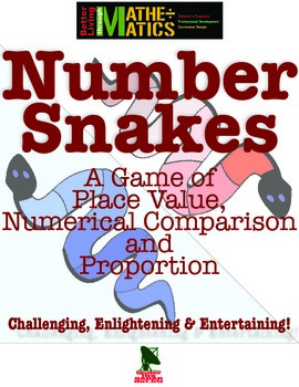 Number Snakes: A Game of Place Value, Comparison and Proportion