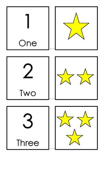 Number Snap / Match (small cards)