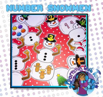 Number Snowmen