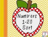 Number Sort: 1-20
