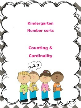 Number Sort - Number Recognition & Counting #s 1-15