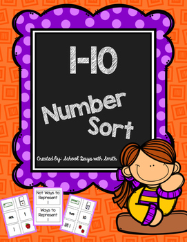 Number Sort: Numbers 1-10