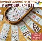 Number Sorting Mats 1-10 in Aboriginal context - Number Representations