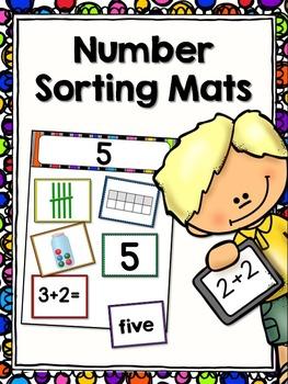 Number Sorting Mats