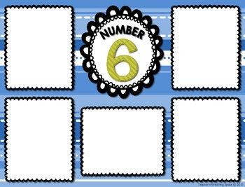 Number Sorting Mats --- Numbers 1-20 --- Number Sorting Math Center