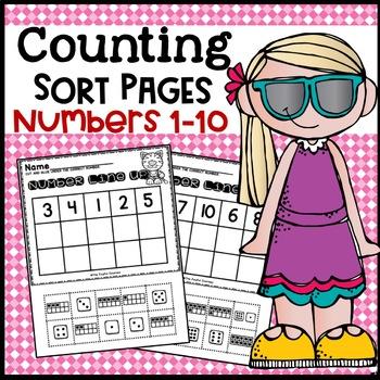 Number Sorting Worksheet Practice