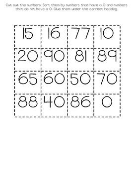 Number Sorts 0-9
