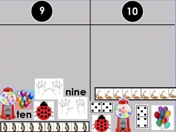 Kindergarten Number Sorts--Common Core