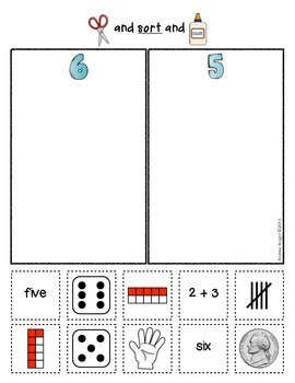 Number Sorts  {Early Math Sorting Series, Set #1}