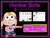 Number Sorts (Numbers 1-5)