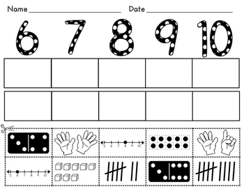 Number Sorts (Numbers 6-10)