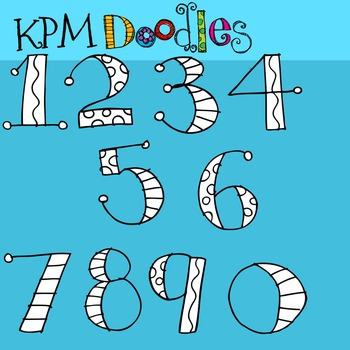KPM Number Soup Stamps