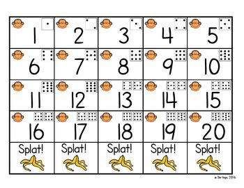 Number Splat - A Math Number Sense Game