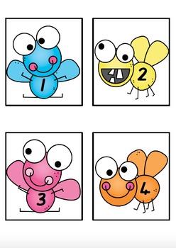 Number Splat (Numbers 1-20)
