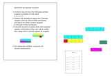 Number Squares: Kindergarten Common Core Math Operations -K.O.A.A.1