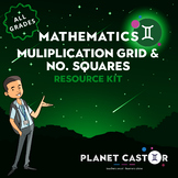 Multiplication Grid & No. Squares Kit | Versatile Resource