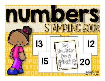 Number Stamping Book 11-20