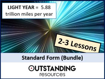 Number: Standard Form BUNDLE (2 - 3 Lessons)