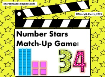 Number Star Match Up!