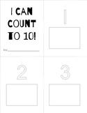 Number Sticker Book