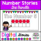 Number Stories 0-10 The Bundle | Digital Number Talk Stories